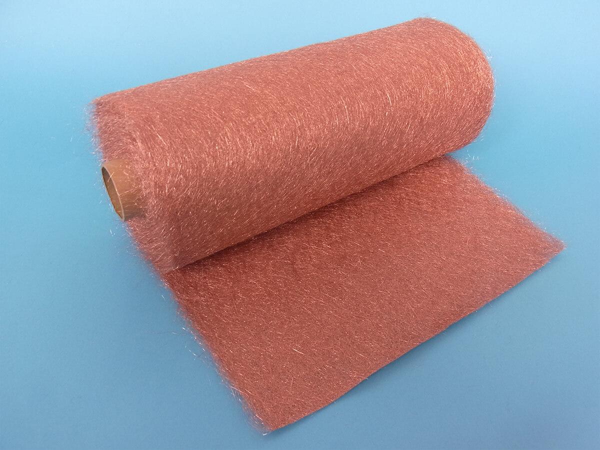 繊維 シート 銅